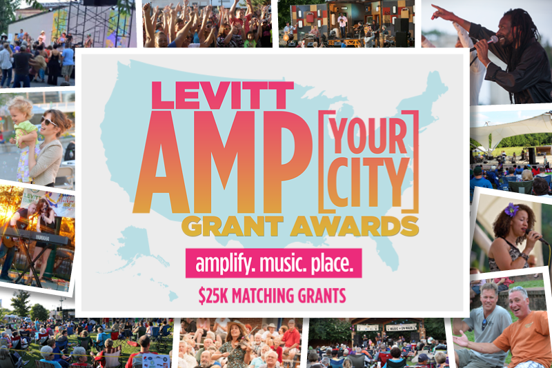 Levitt AMP Grant Awards